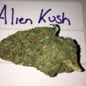 Buy 1oz Alien Kush Strain Online - Legal Weed Store Plug
